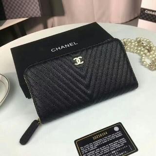 CHANEL - シャネル 長財布 カンボン