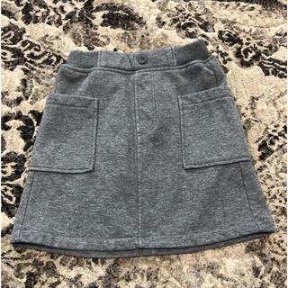 ジーユー(GU)のGU  キッズ スカート 120cm(スカート)