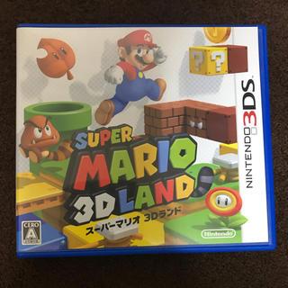 ニンテンドー3DS(ニンテンドー3DS)のスーパーマリオ3Dランド(携帯用ゲームソフト)