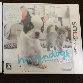 ニンテンドー3DS(ニンテンドー3DS)のnintendogs+cats フレンチ・ブル&Newフレンズ(携帯用ゲームソフト)