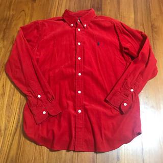 ポロラルフローレン(POLO RALPH LAUREN)のラルフローレン  メンズ シャツ 赤(シャツ)