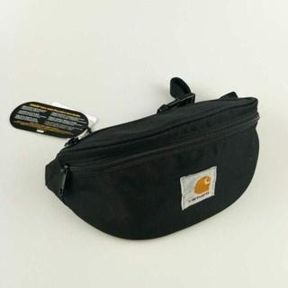 カーハート(carhartt)のCARHARTT WIP ブラック ショルダーバッグ 男女兼用(メッセンジャーバッグ)
