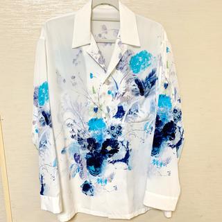 ラッドミュージシャン(LAD MUSICIAN)のLAD MUSICIAN 花柄パジャマシャツ 19ss(シャツ)