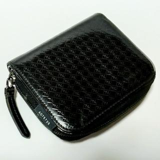 フェンディ(FENDI)のFENDI パテントレザー ロゴ柄 折り財布(財布)