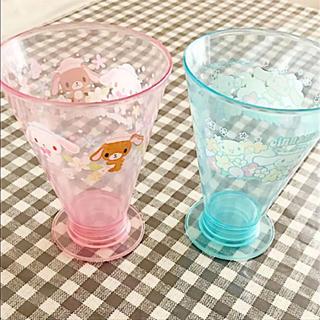 サンリオ(サンリオ)のシナモロール&シュガーバニーズ  コップセット(グラス/カップ)