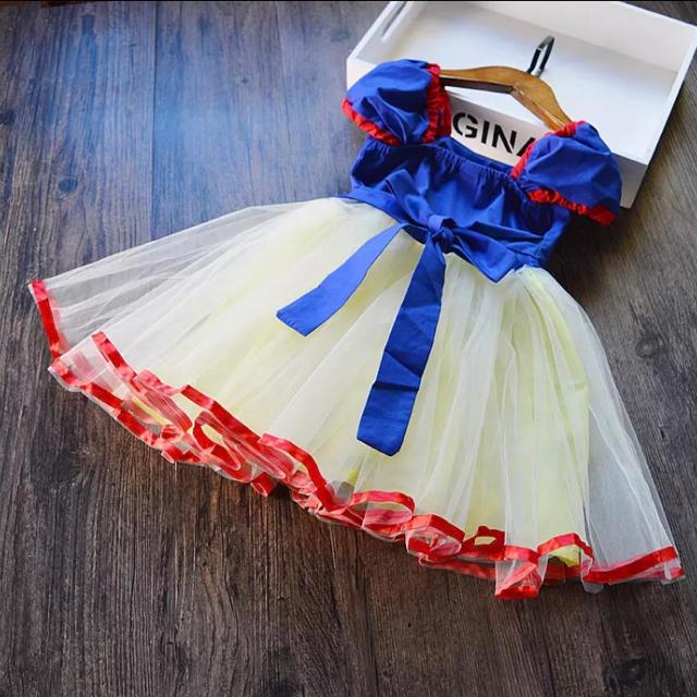 Disney(ディズニー)の☆白雪姫風ドレス☆100㎝ キッズ/ベビー/マタニティのキッズ服 女の子用(90cm~)(ワンピース)の商品写真