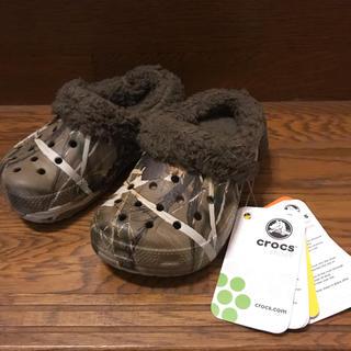 crocs - 新品!crocs クロックス kids mammoth realtree 14