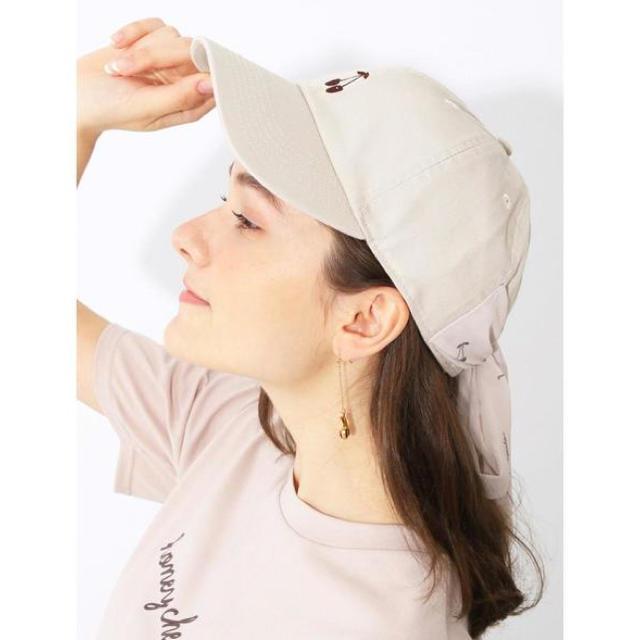 Honey Salon(ハニーサロン)のハニーサロン♡チェリーキャップ レディースの帽子(キャップ)の商品写真