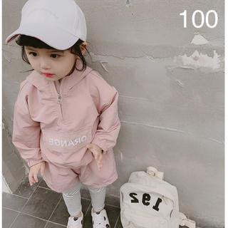 韓国子供服☆新品 スポーティー セットアップ♬☺︎100㎝