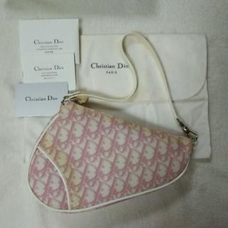 Christian Dior - ディオール トロッター柄 サドルポーチ