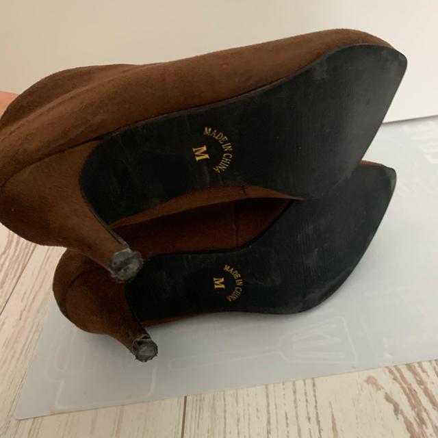 ピンヒールブーティー レディースの靴/シューズ(ブーティ)の商品写真