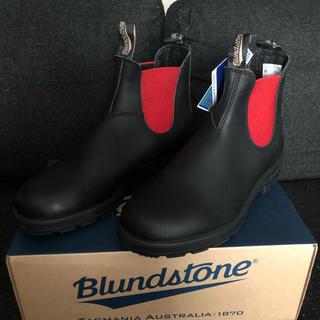 【新品未使用】BLUNDSTONE☆サイドゴアブーツ☆本革箱タグあり