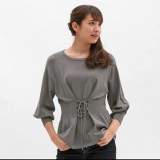 GU - GU コルセットセーター(7分袖) 未使用に近い