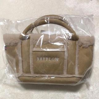BAYFLOW - ベイフロー ムートントート ベージュ s