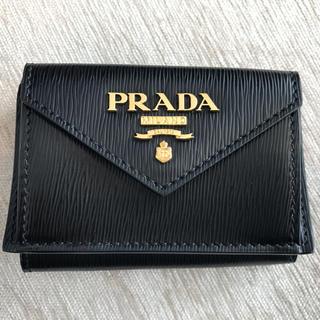 PRADA - PRADA 3つ折り ミニ財布