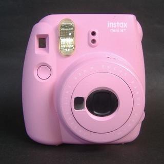 富士フイルム - チェキ instax mini 8+ ストロベリー インスタントカメラ