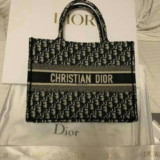 クリスチャンディオール(Christian Dior)の美品!CHRISTIAN DIOR トートバッグ(トートバッグ)
