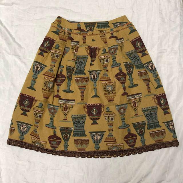 JaneMarple(ジェーンマープル)のジェーンマープル    ロイヤル別珍ジャケット&ゴブラン織りスカート レディースのレディース その他(セット/コーデ)の商品写真