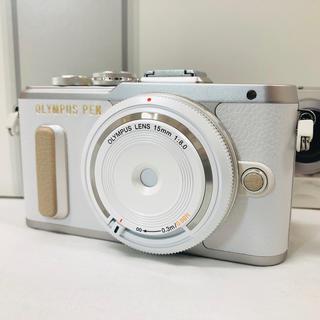 OLYMPUS - 新品★オリンパス OLYMPUS PEN ホワイト レンズセット
