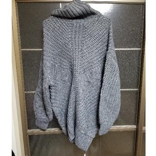 マウジー(moussy)の新品未使用 moussy ざっくりニット(ニット/セーター)
