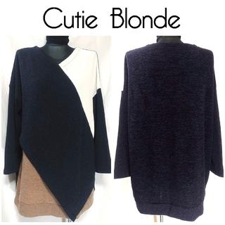 キューティーブロンド(Cutie Blonde)のキューティーブロンド レイヤード チュニック トップス L 個性的 レディース(チュニック)