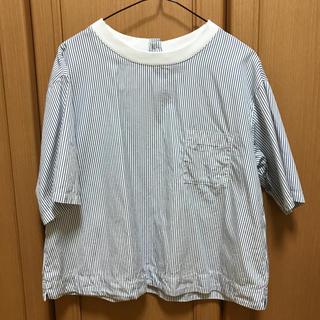 ムジルシリョウヒン(MUJI (無印良品))の五分袖Tシャツ(Tシャツ(長袖/七分))