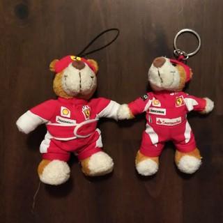 フェラーリ(Ferrari)のフェラーリ くまキーホルダー、ストラップ(ノベルティグッズ)