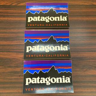 パタゴニア(patagonia)のパタゴニア  ベンチュラ ステッカー 3枚セット(その他)
