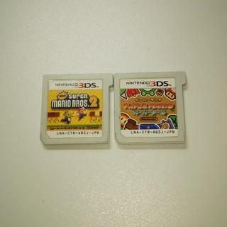ニンテンドー3DS(ニンテンドー3DS)の任天堂3DSソフトのみマリオセット(携帯用ゲームソフト)