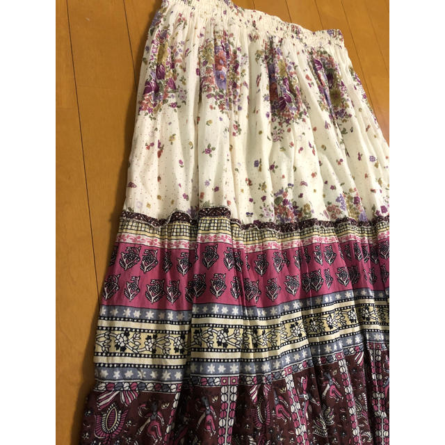 THE EMPORIUM(ジエンポリアム)のジ エンポリアム THE EMPORIUM  Lサイズ ロングスカート レディースのスカート(ロングスカート)の商品写真
