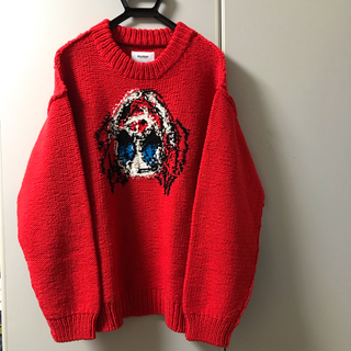 COMME des GARCONS - Doublet 19aw red knit