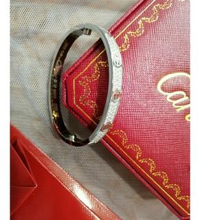 カルティエ(Cartier)の美品!Cartier カルティエ  男女兼用 ブレスレット バングル(ブレスレット/バングル)