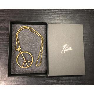 ニードルス(Needles)のNEEDLES/ニードルス Peace Pendant Ball Chain(ネックレス)