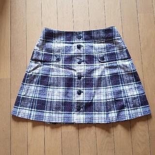 バーバリーブルーレーベル(BURBERRY BLUE LABEL)のブルーバーバリーラップスカート(ミニスカート)