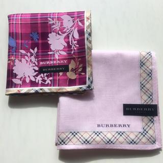 BURBERRY - 新品 バーバリー ハンカチ ①