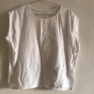 アーバンリサーチ(URBAN RESEARCH)の白カットソー(カットソー(半袖/袖なし))
