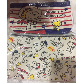 SNOOPY - スヌーピー帆布ポーチ