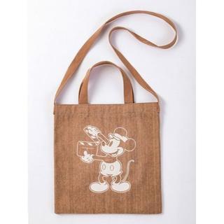 ルビー アンド ユー(RUBY AND YOU)のRUBY and you☆ミッキーマウスプリント 3WAYバッグ(ショルダーバッグ)