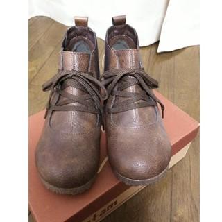 ブラウンくつ(ローファー/革靴)