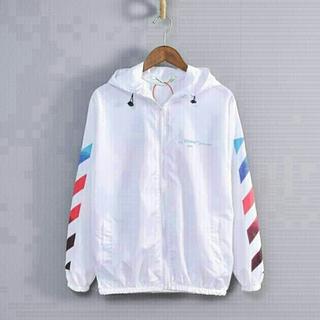 OFF-WHITE - OFF-WHITE(オフホワイト) パーカー ジャケット 薄い 夏秋 男女兼用