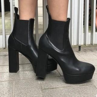 ENVYM - ENVYM サイドゴア ブーツ ♡