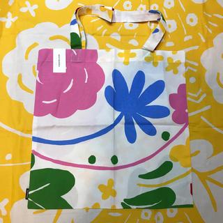 マリメッコ(marimekko)の新品 未使用 完売 マリメッコ marimekko  ファブリックバッグ バッグ(トートバッグ)
