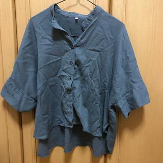 ムジルシリョウヒン(MUJI (無印良品))の無印良品 五分袖シャツ(Tシャツ(長袖/七分))