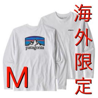 パタゴニア(patagonia)のパタゴニア ロングスリーブ フィッツロイ ホライゾンズ ロンT Mサイズ(Tシャツ/カットソー(七分/長袖))