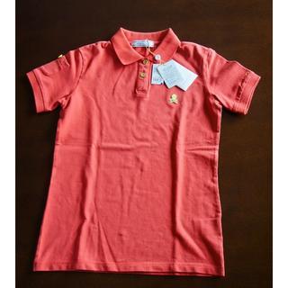 マークアンドロナ(MARK&LONA)の新品タグ付き!MARK&LONA レディース ポロシャツ オレンジ S(ウエア)