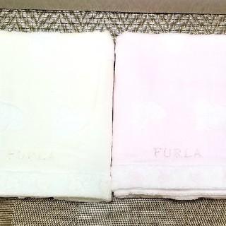 フルラ(Furla)のFURLA  フェイスタオル 【新品】 2枚    フルラ  タオル(タオル/バス用品)