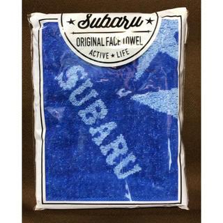 スバル(スバル)のSUBARU スバル オリジナルフェイスタオル 青(その他)