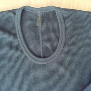 ナノユニバース(nano・universe)のナノ・ユニバース 七分袖 ワッフルT(Tシャツ/カットソー(七分/長袖))