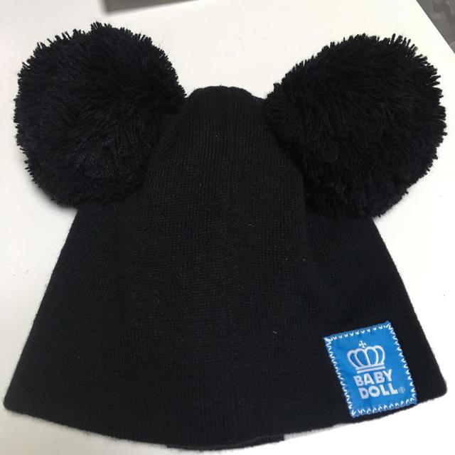 ベビードール ニット帽 50〜54㎝ キッズ/ベビー/マタニティのこども用ファッション小物(帽子)の商品写真