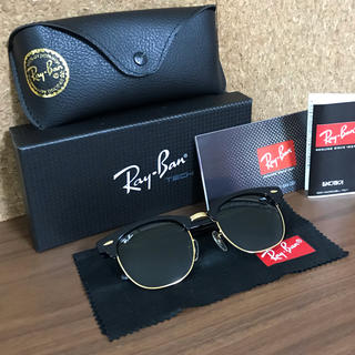 Ray-Ban - RAYBAN レイバン サングラス クラブマスター RB3016 W0365